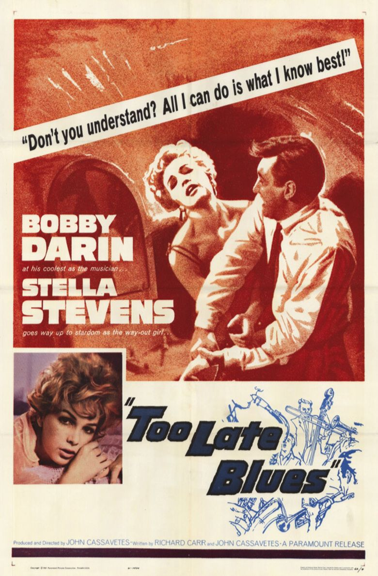 Too Late Blues movie poster
