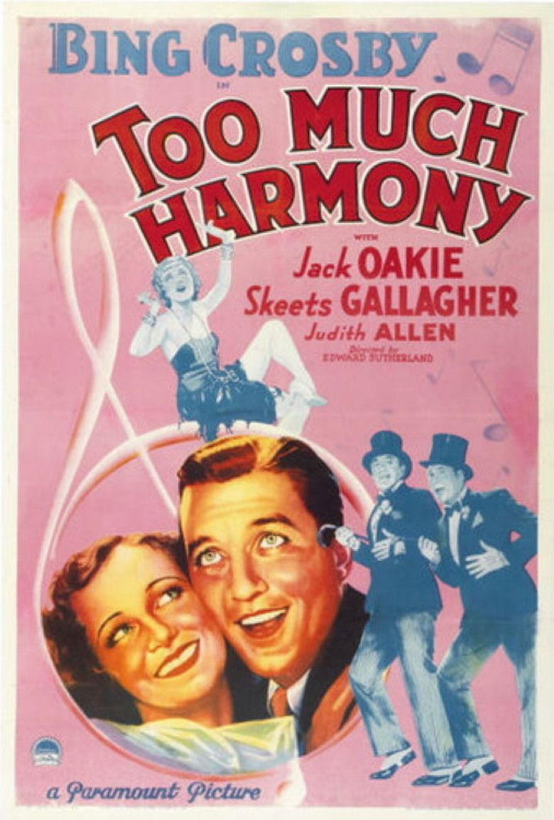 Too Much Harmony movie poster