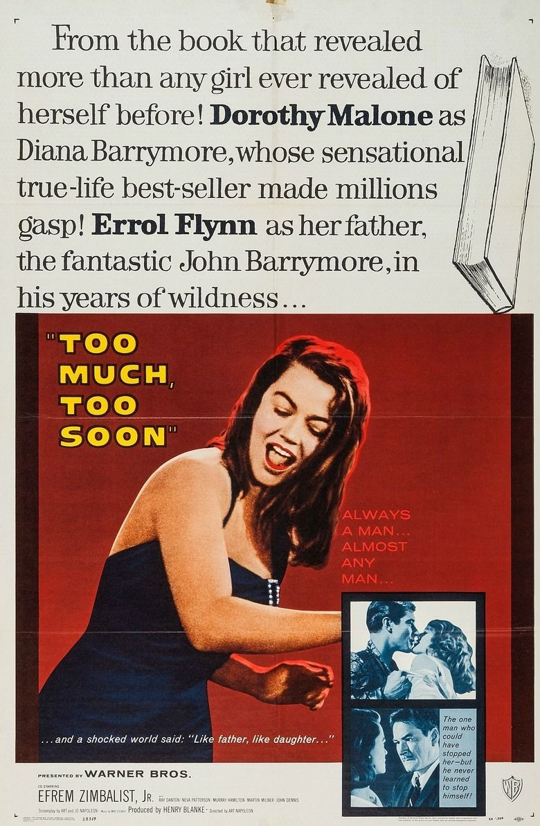Too Much, Too Soon movie poster