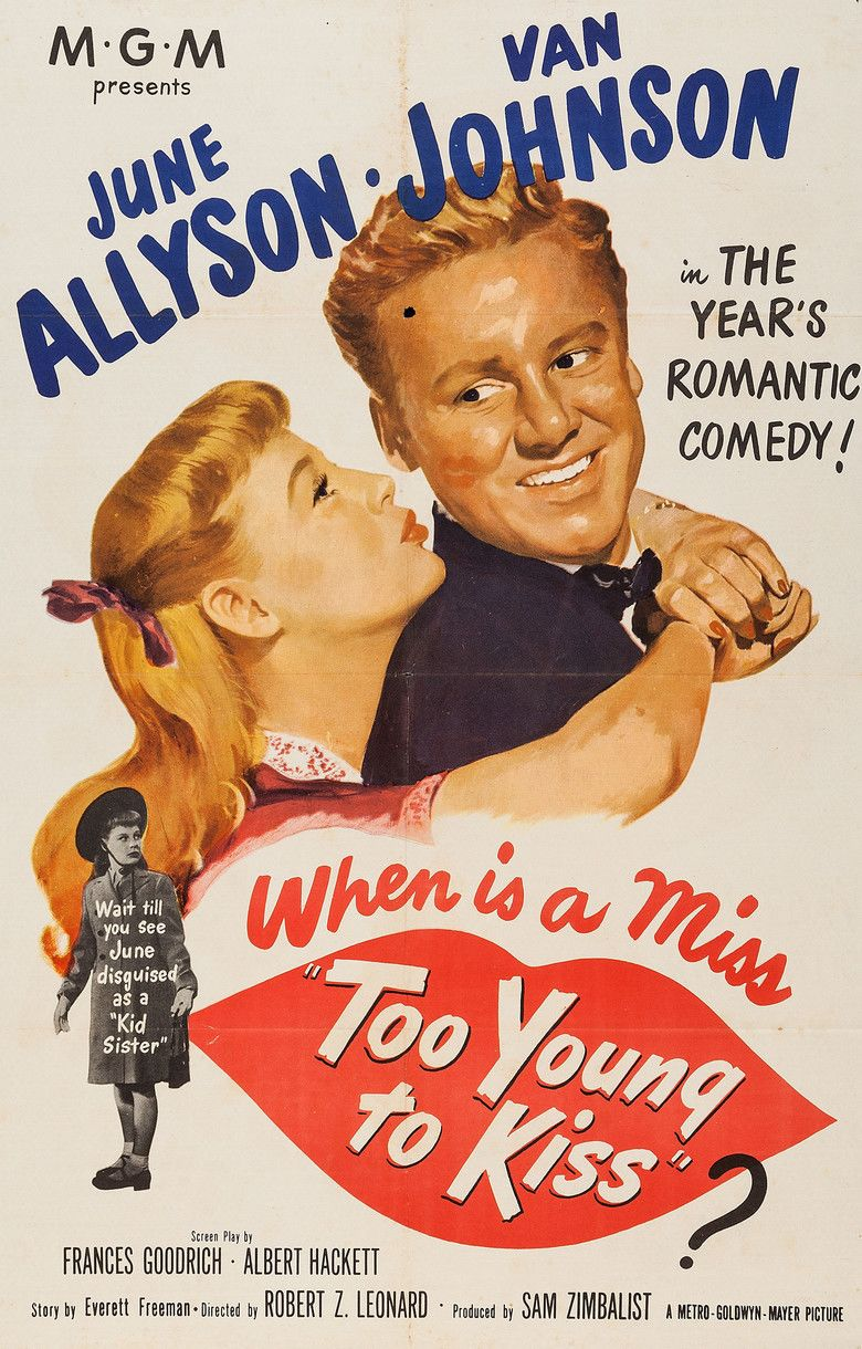 Too Young to Kiss movie poster