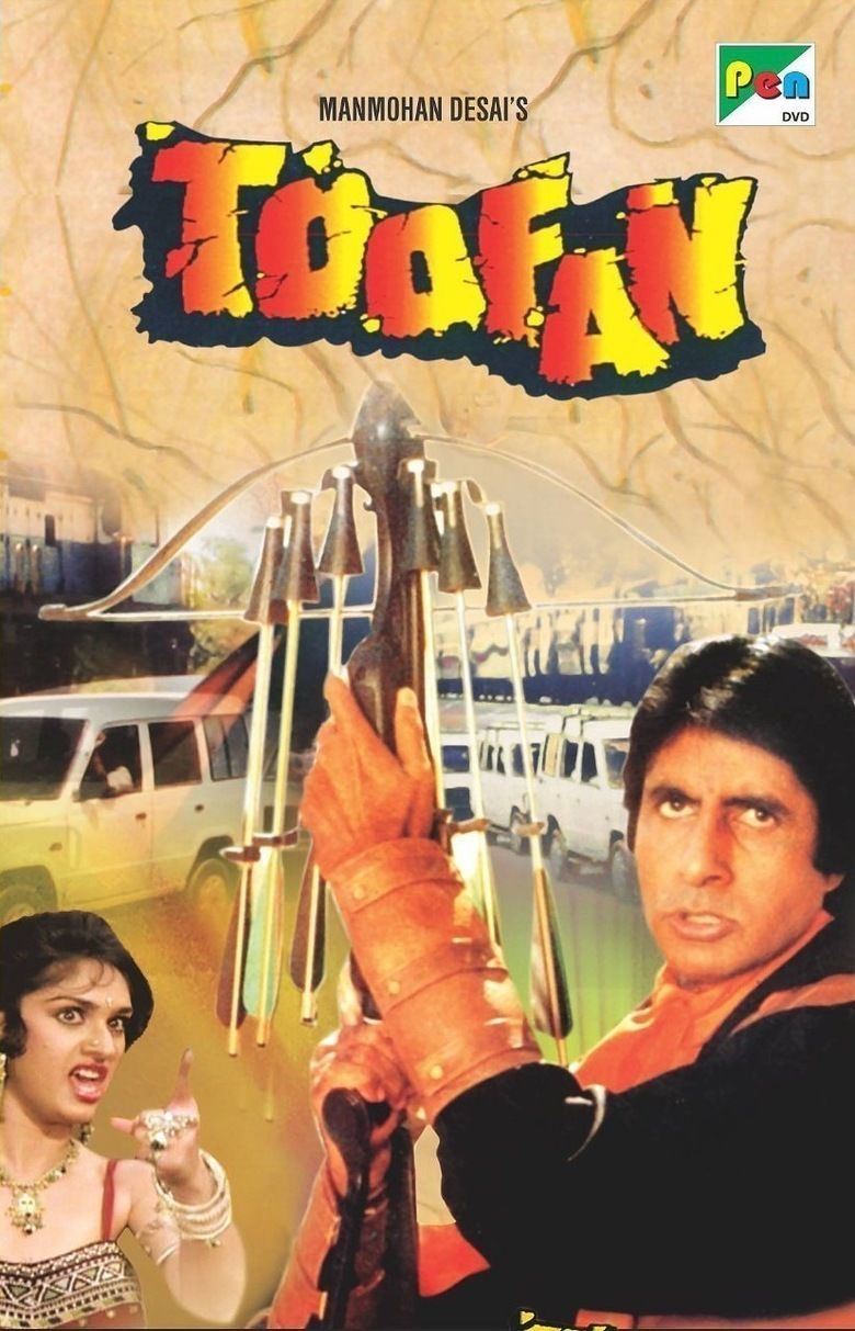 Toofan (film) movie poster