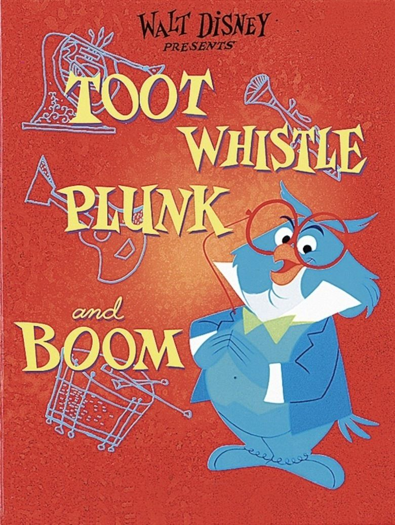 Toot, Whistle, Plunk and Boom movie poster
