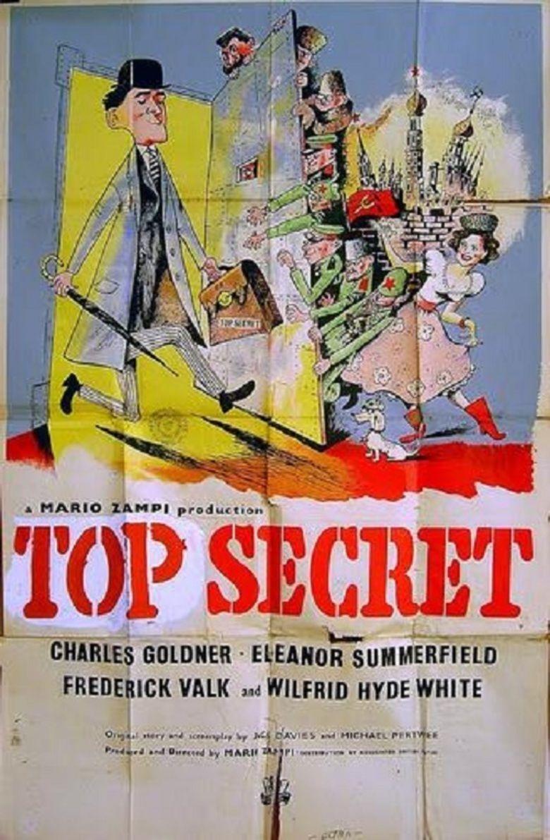 Top Secret (1952 film) movie poster