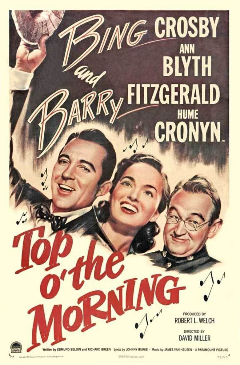Top o the Morning (film) movie poster