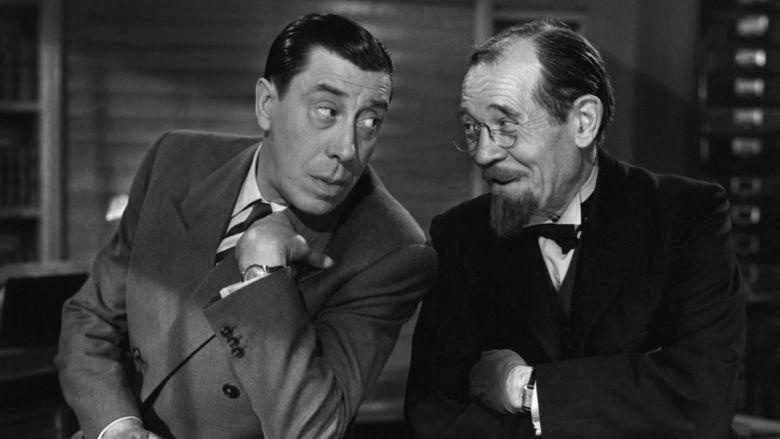 Topaze (1951 film) movie scenes