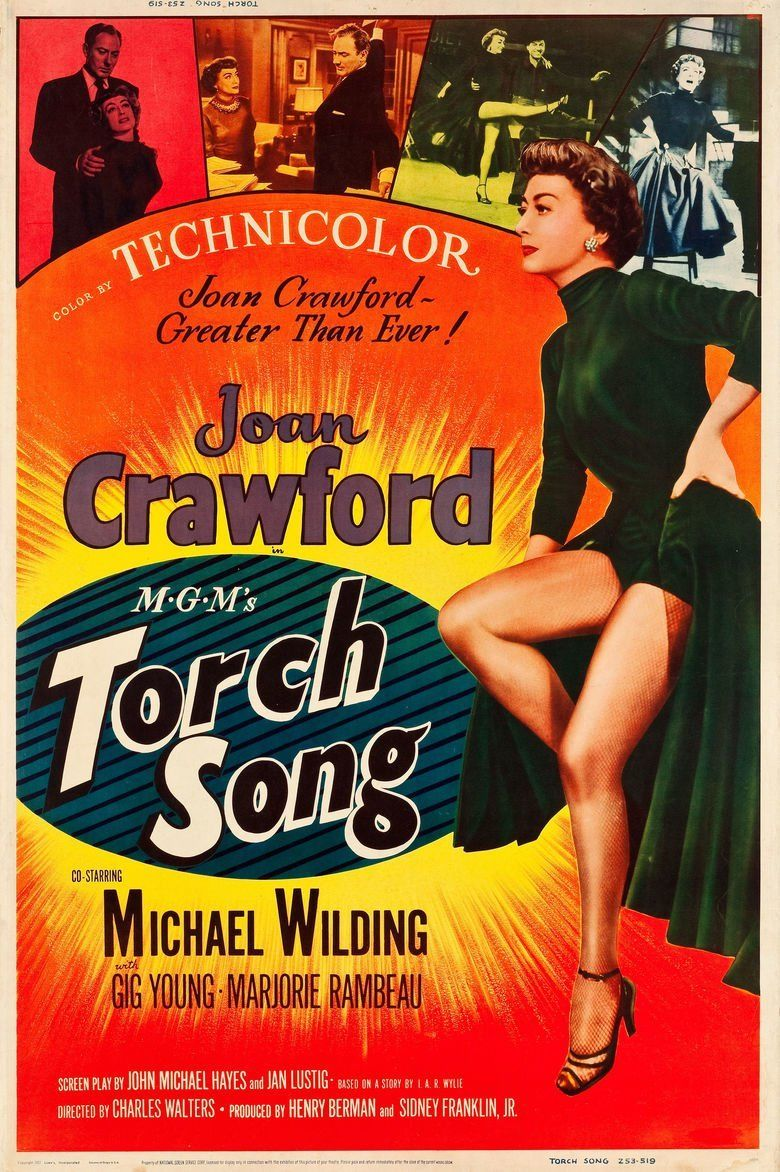 Torch Song (film) movie poster