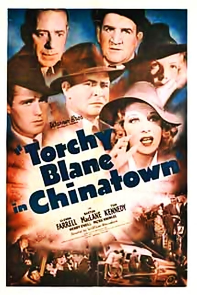 Torchy Blane in Chinatown movie poster