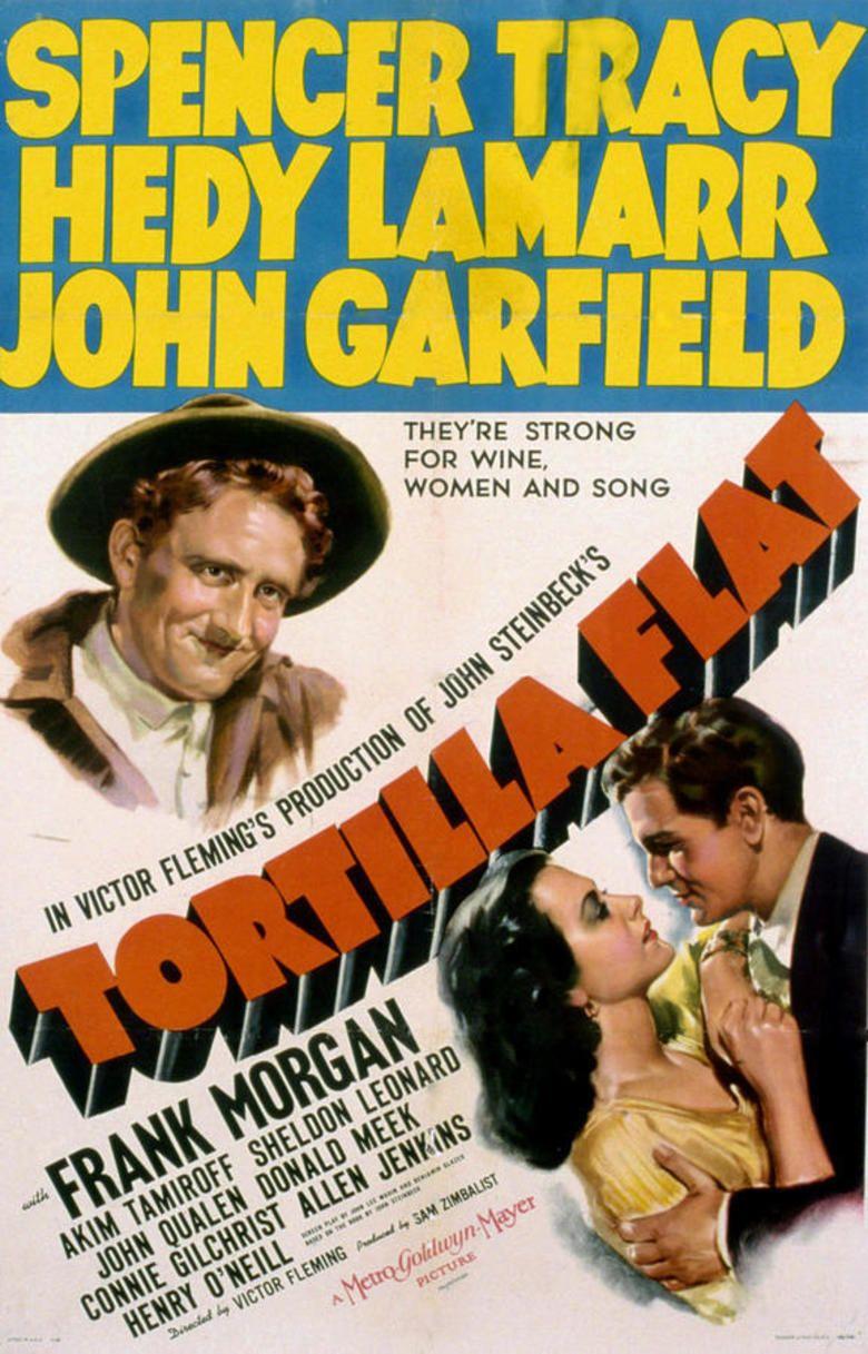 Tortilla Flat (film) movie poster