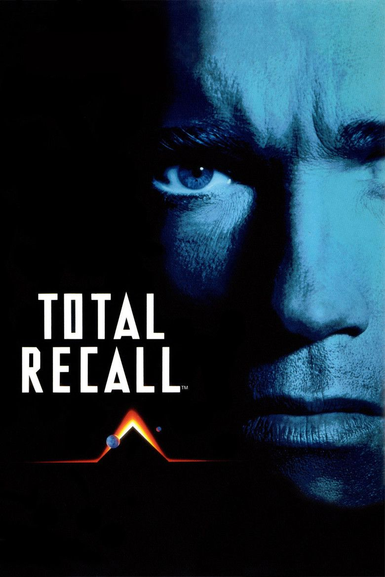 Total Recall (1990 film) movie poster