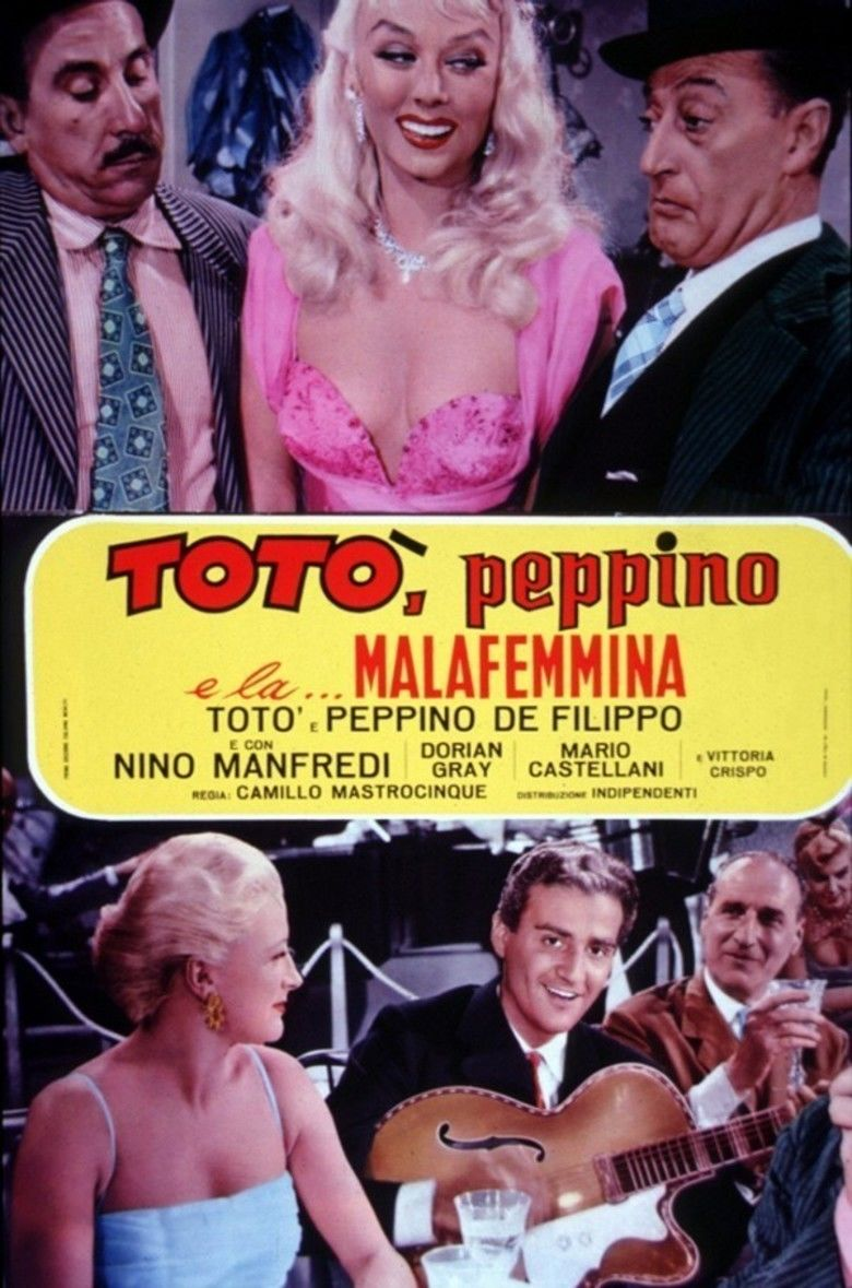 Toto, Peppino, and the Hussy movie poster