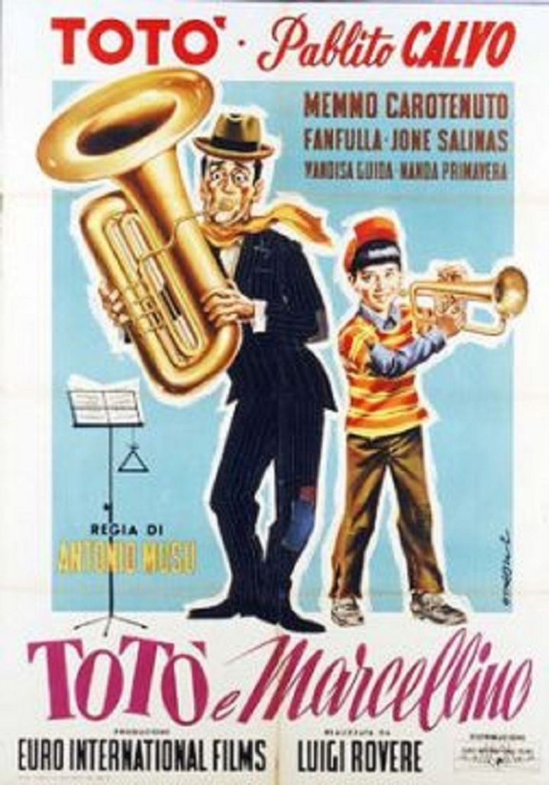 Toto and Marcellino movie poster
