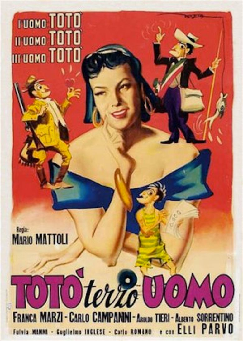 Toto the Third Man movie poster