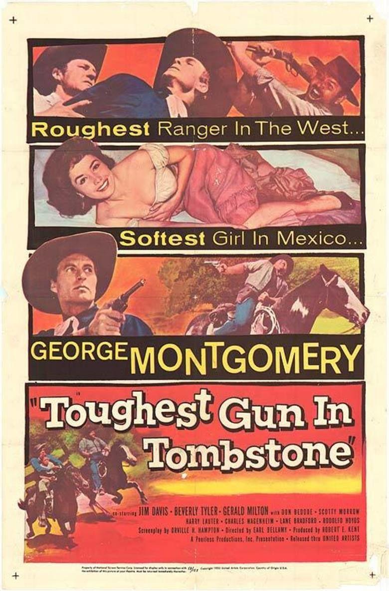 Toughest Gun in Tombstone movie poster