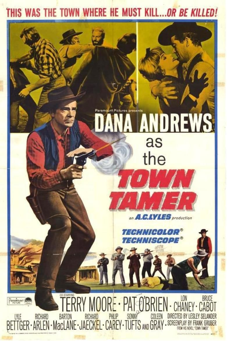 Town Tamer movie poster