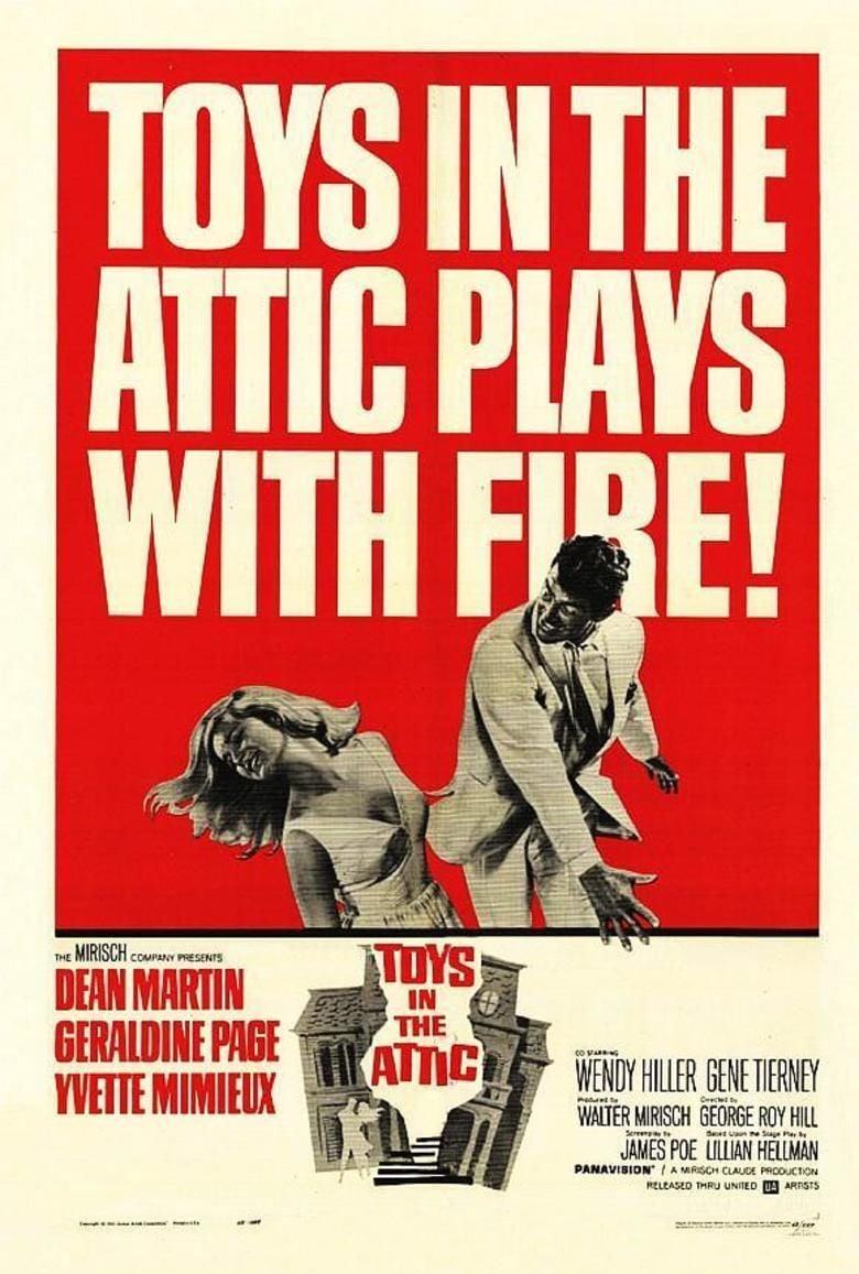 Toys in the Attic (1963 film) movie poster