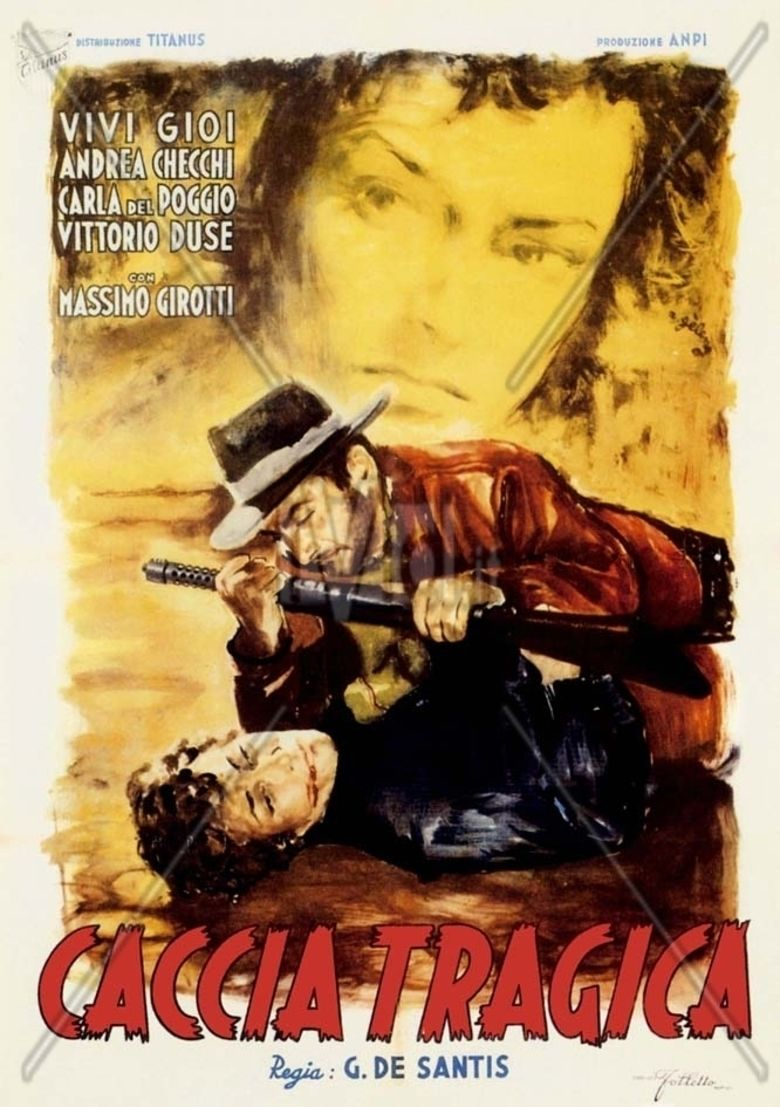 Tragic Hunt movie poster