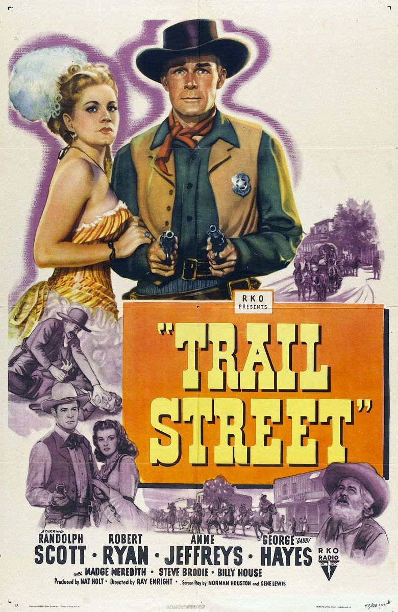 Trail Street movie poster