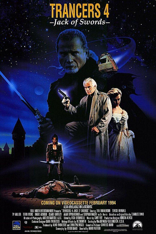 Trancers 4: Jack of Swords movie poster