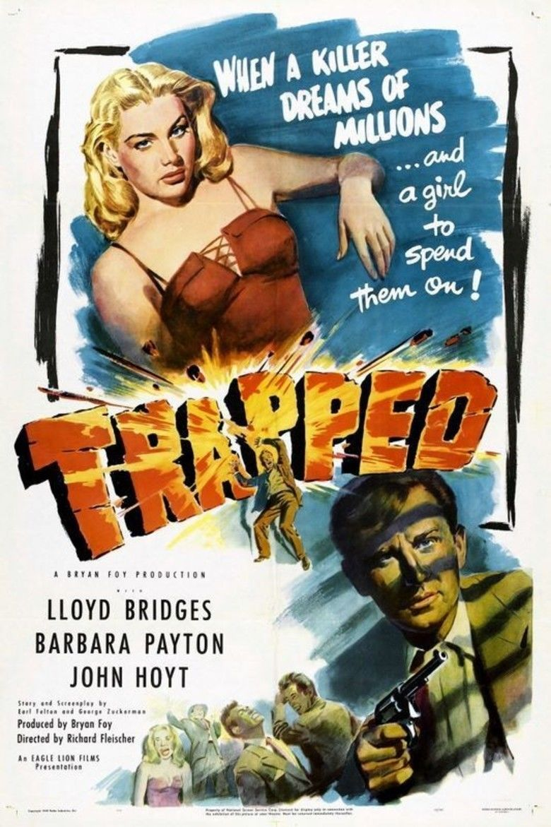 Trapped (1949 film) movie poster