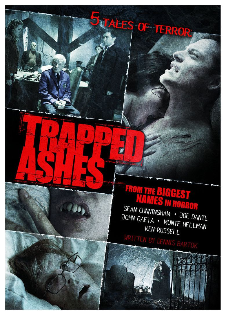 Trapped Ashes movie poster
