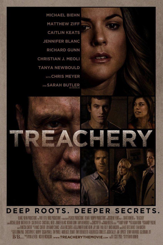 Treachery (film) movie poster