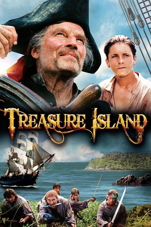 Treasure Island (1990 film) movie poster
