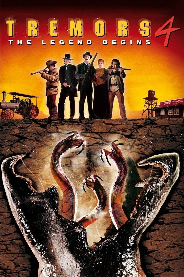 Tremors 4: The Legend Begins movie poster