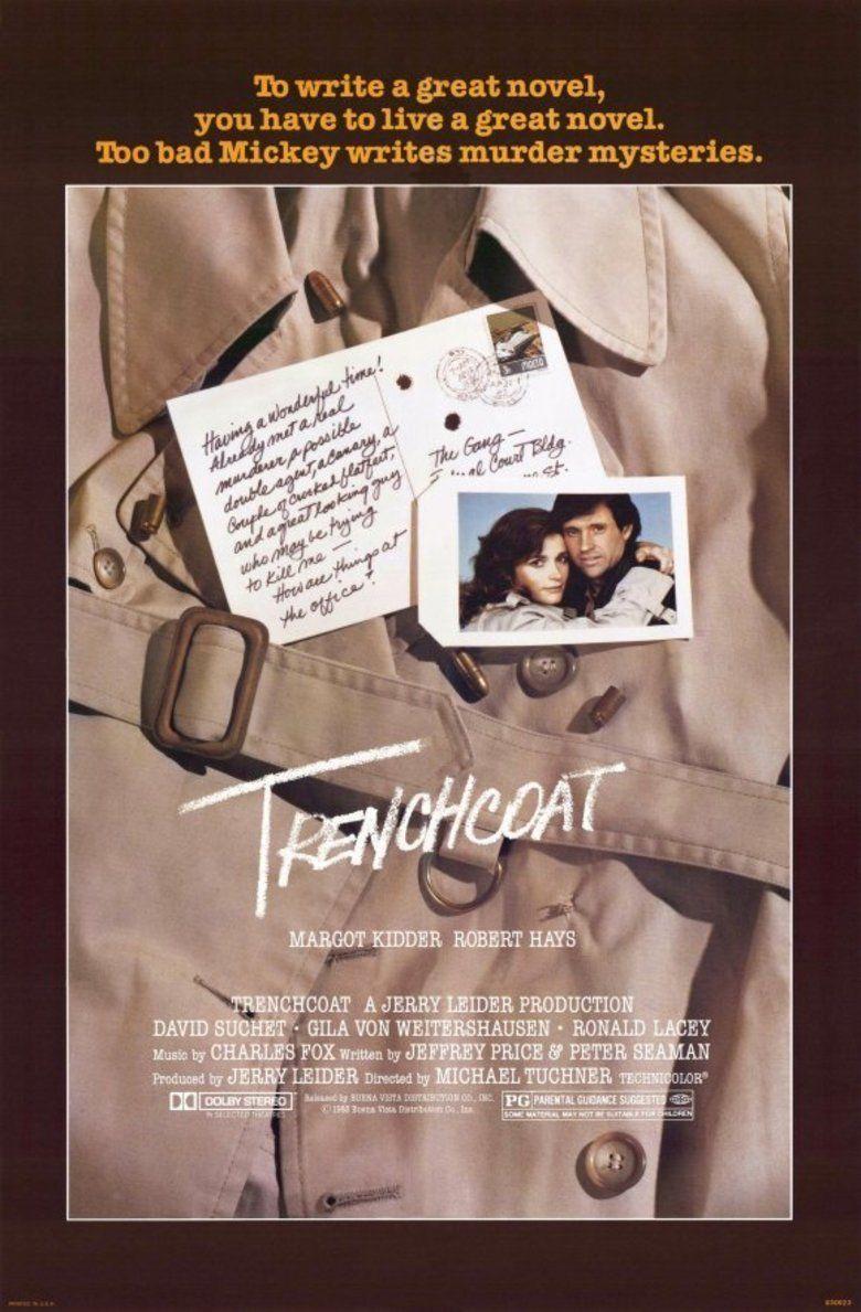 Trenchcoat (film) movie poster