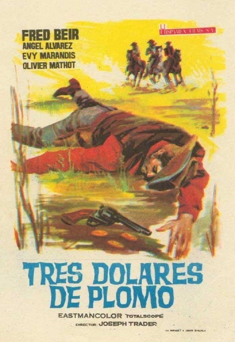 Tres dolares de plomo movie poster