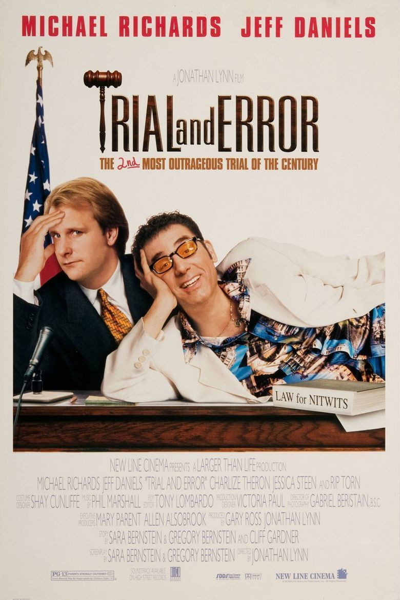 Trial and Error (1997 film) movie poster