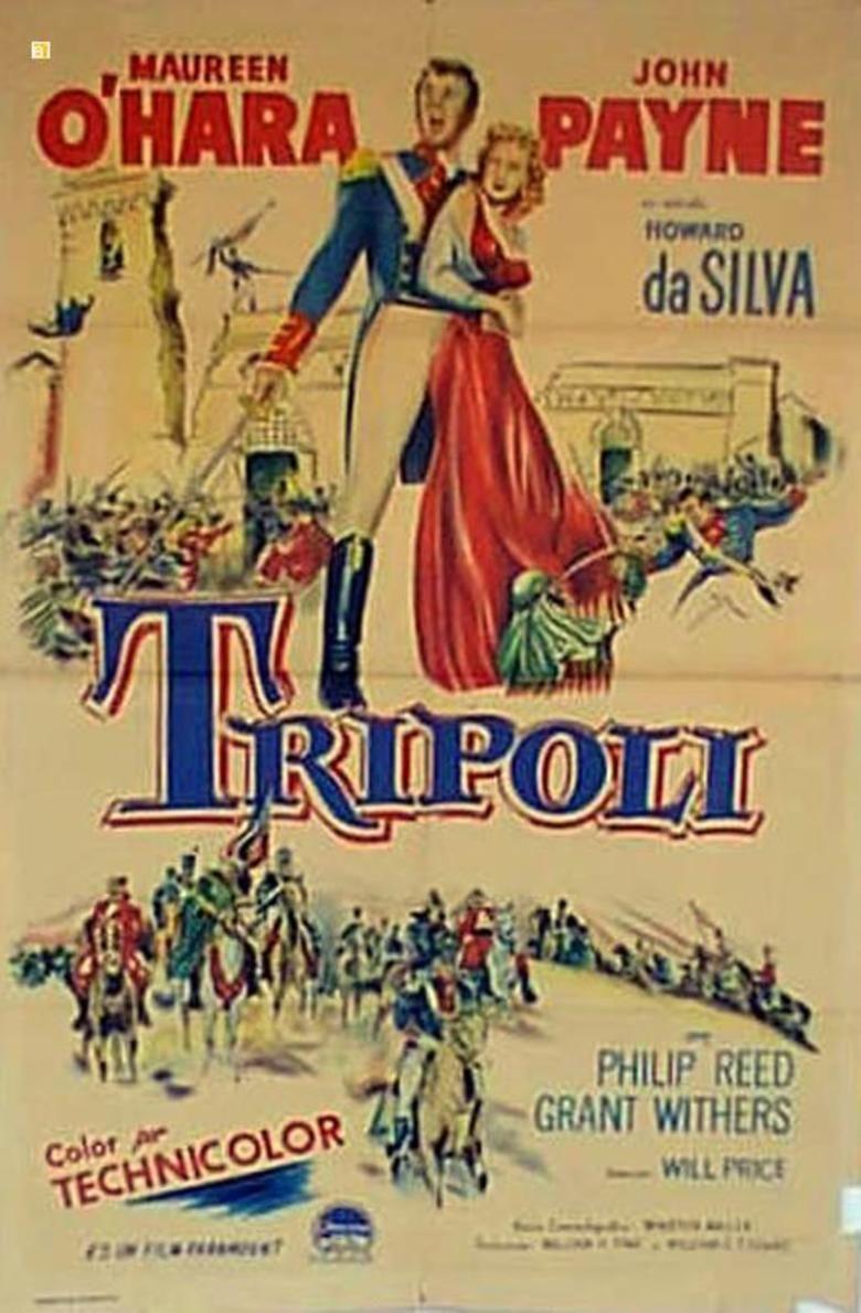 Tripoli (film) movie poster