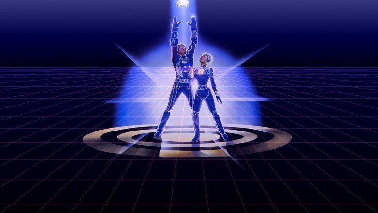 Tron movie scenes
