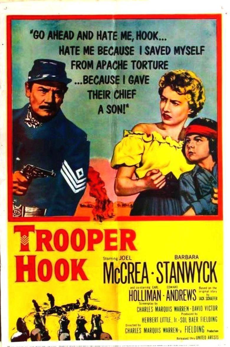 Trooper Hook movie poster