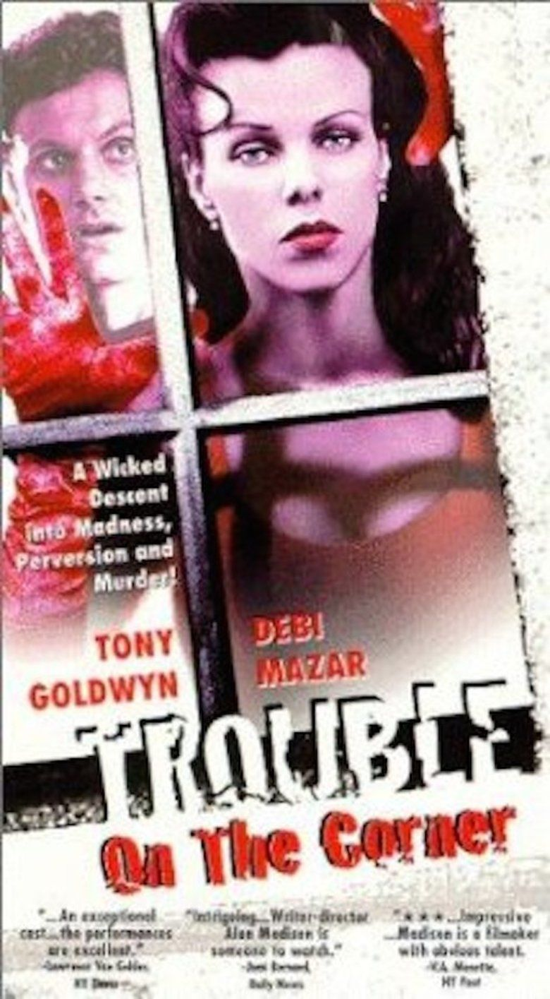 Trouble on the Corner movie poster