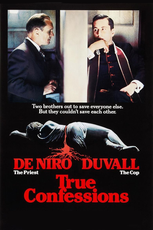 True Confessions (film) movie poster