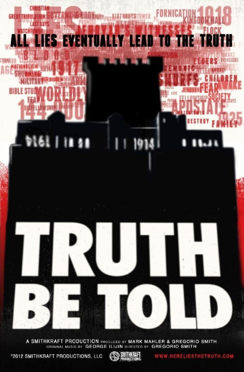 Truth Be Told (2012 film) movie poster