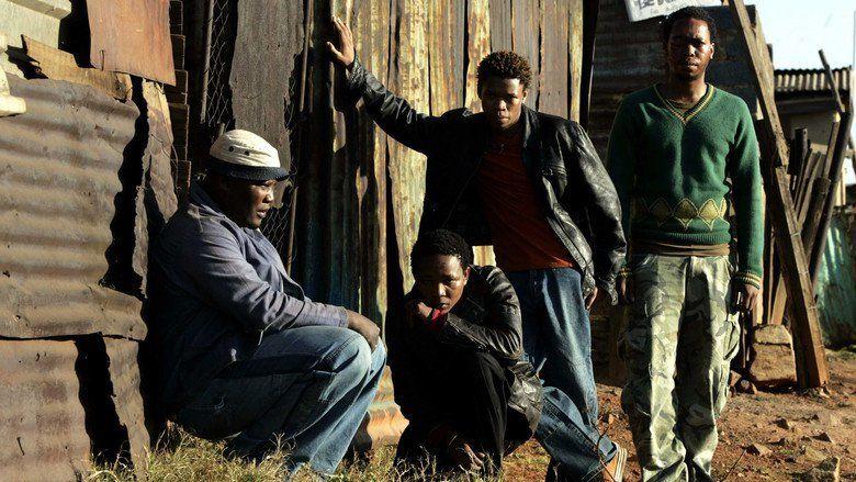 Tsotsi movie scenes
