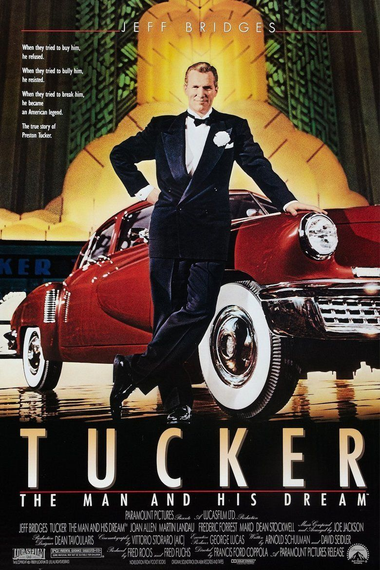 Tucker: The Man and His Dream movie poster