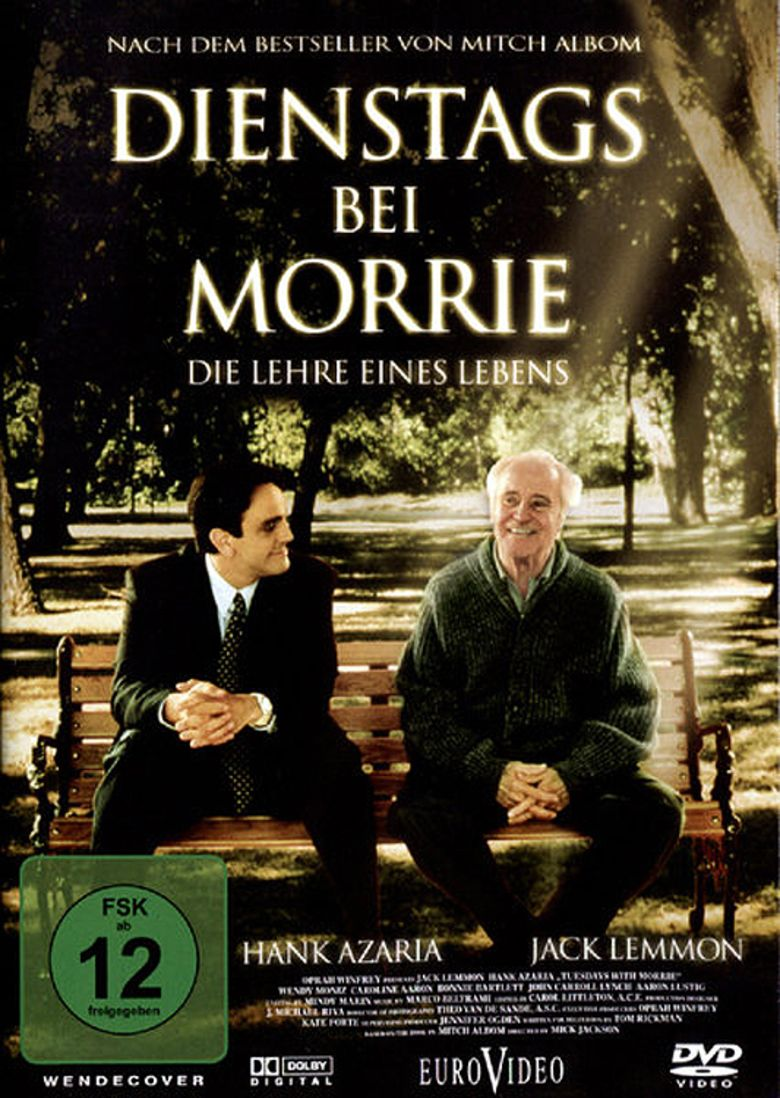 "tuesday with morrie movie essay Free essay: aside from teaching mitch about culture, morrie seeks to teach him about trust he explains to mitch: ""you see, you closed your eyes that."