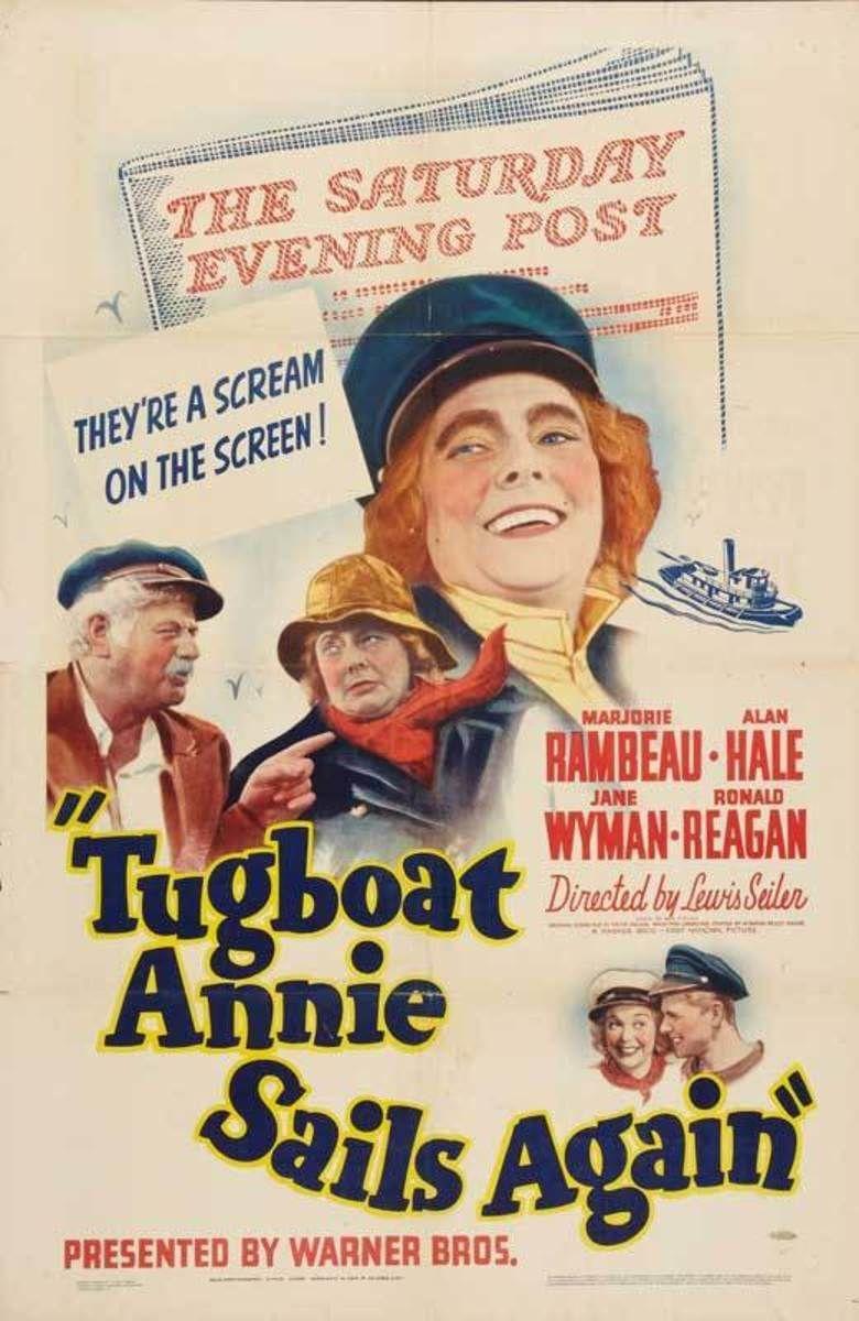 Tugboat Annie Sails Again movie poster