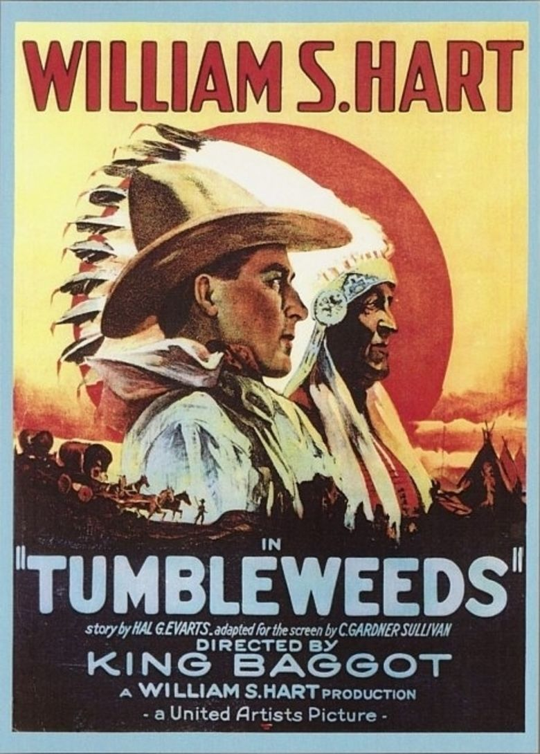 Tumbleweeds (1925 film) movie poster