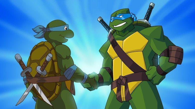 Turtles Forever movie scenes