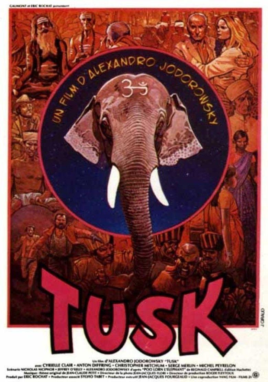 Tusk (1980 film) movie poster