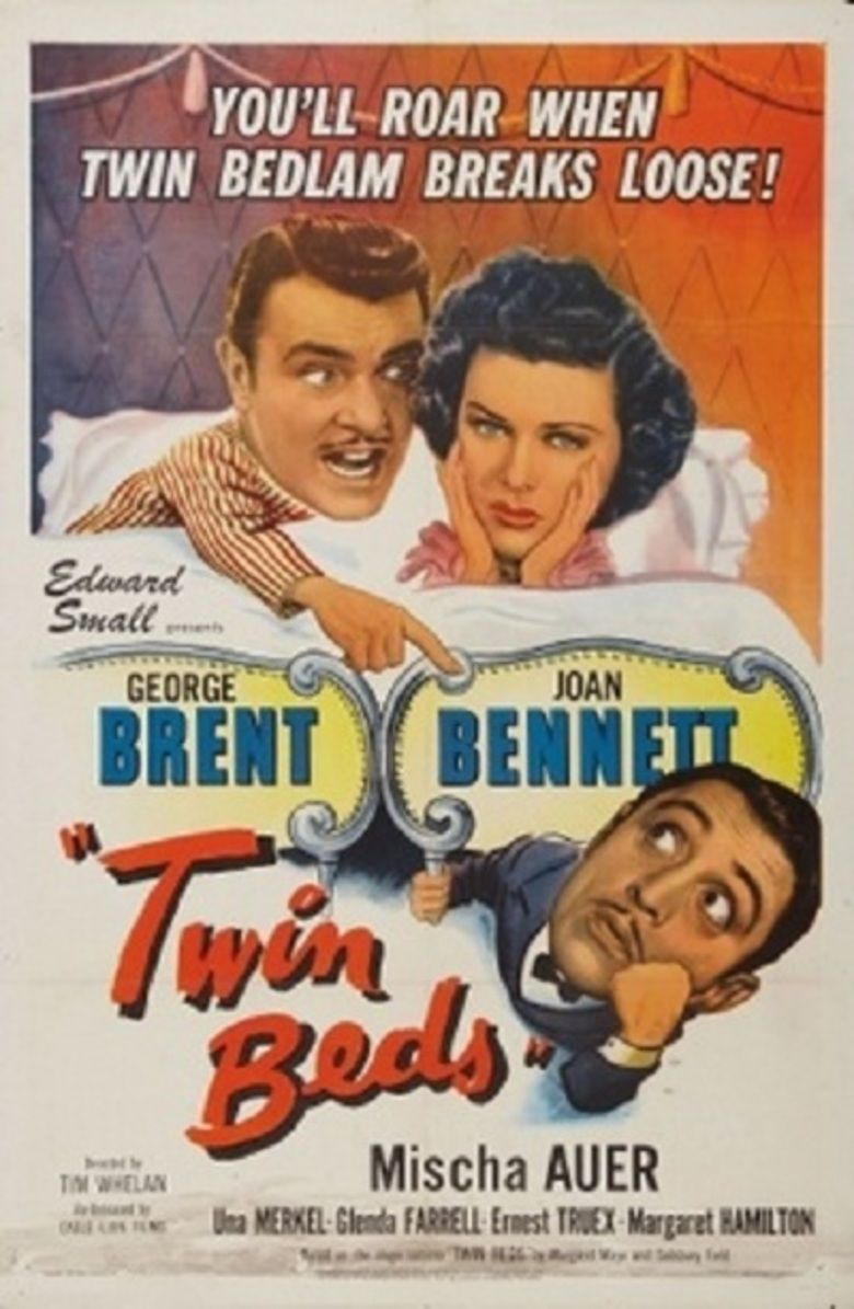 Twin Beds (1942 film) movie poster