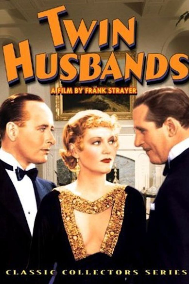 Twin Husbands (1933 film) movie poster