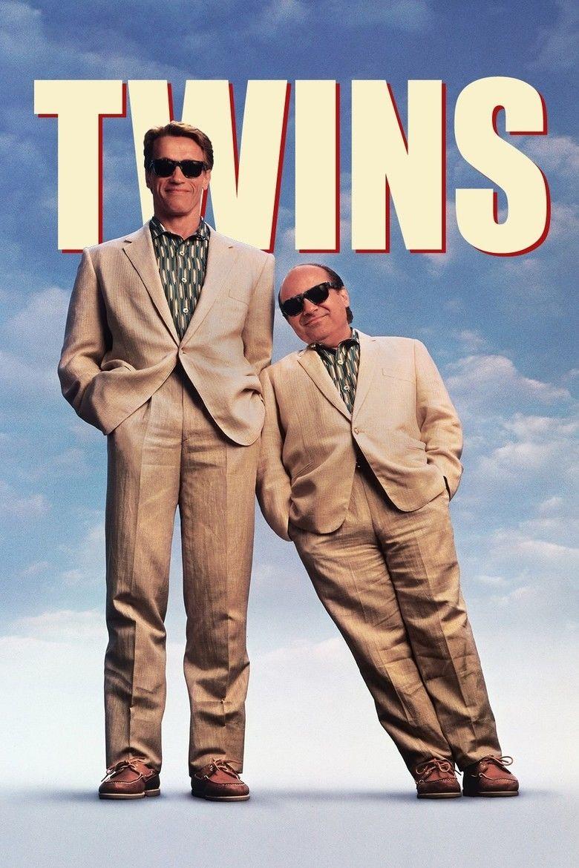 Twins (1988 film) movie poster