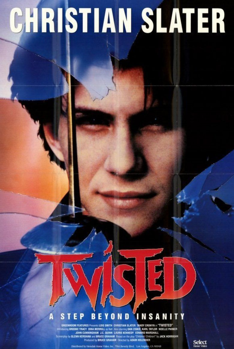 Twisted (1986 film) movie poster