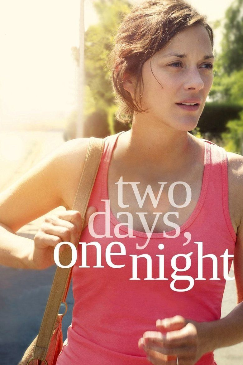 Two Days, One Night movie poster