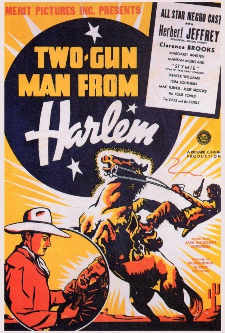 Two Gun Man from Harlem movie poster