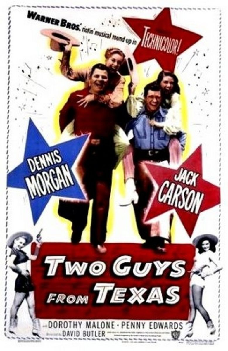 Two Guys from Texas movie poster